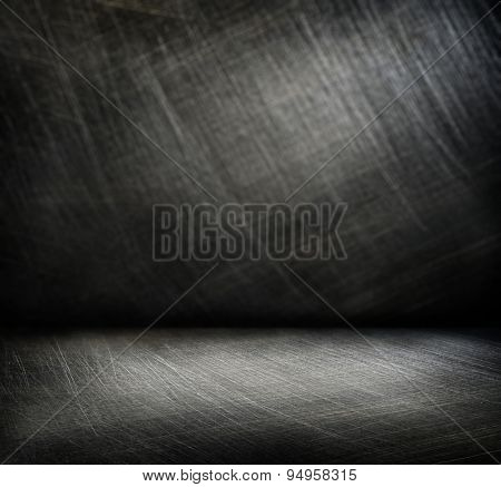 Steel Scratchy Background