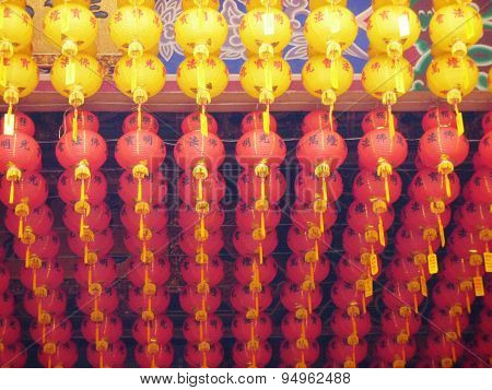 spring festival lanterns