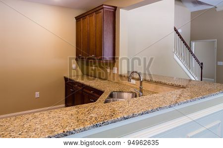 Granite Countertop In New Kitchen