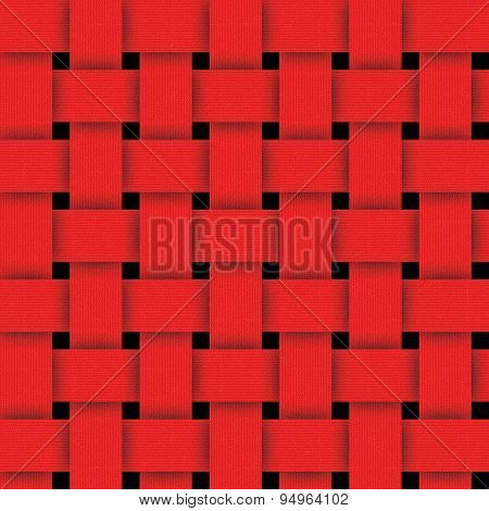 Basketwork-red