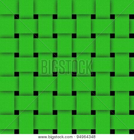 Basketwork-green