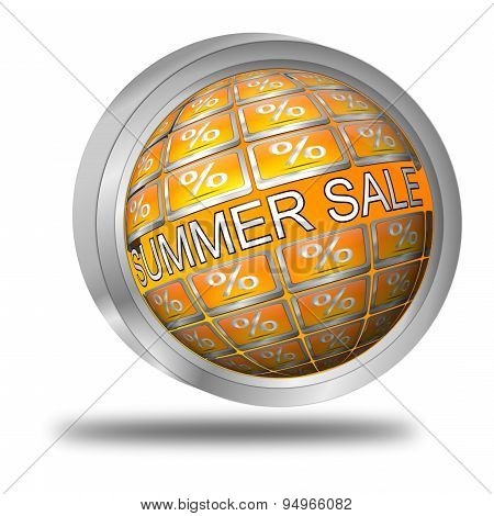 summer sale button