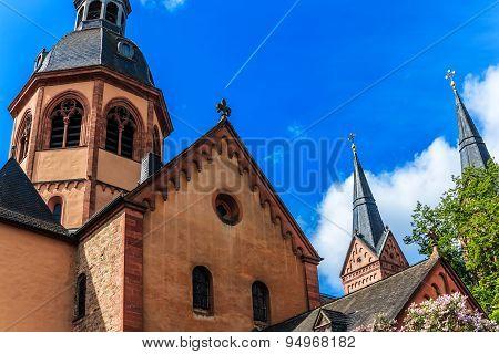 Basilica in Seligenstadt, Germany