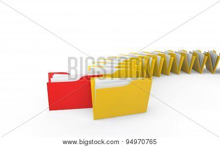 3d unique folder in folders