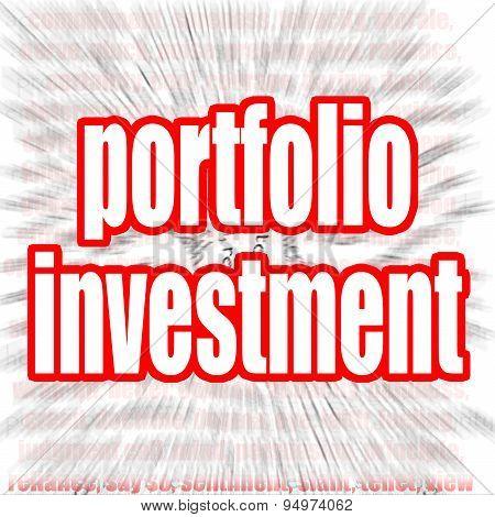 Portfolio Investment Word Cloud