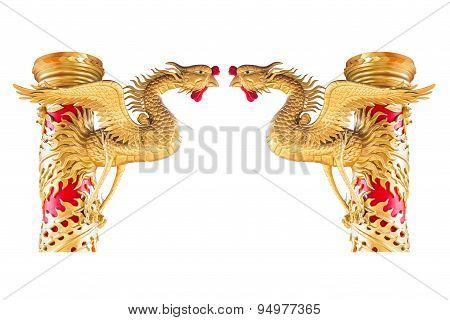 Chinese Phoenix Statue