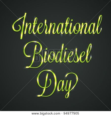 International Biodiesel Day