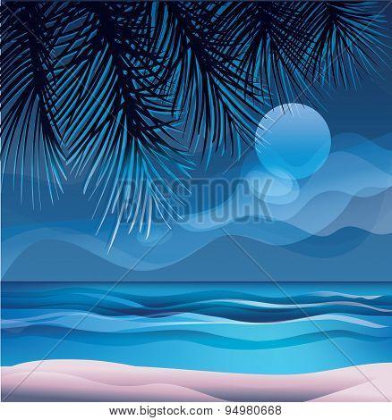 tropic exotic island ocean beach