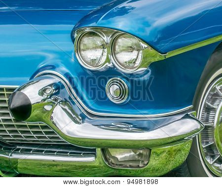 1958 Cadillac Eldorado Headlight Reflection