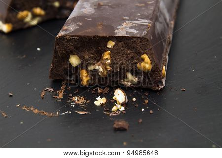 Very Thick Brick Of Chocolate With Walnut