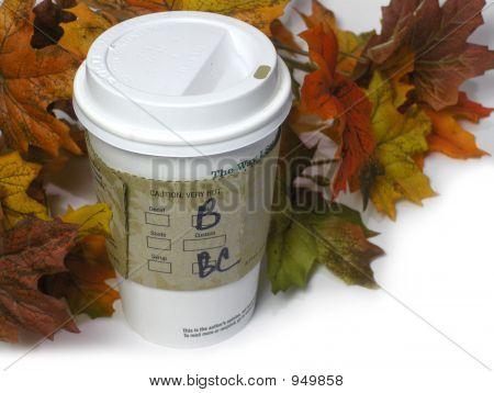 Coffe In The Fall Season