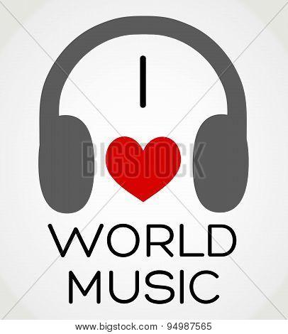 I love world music