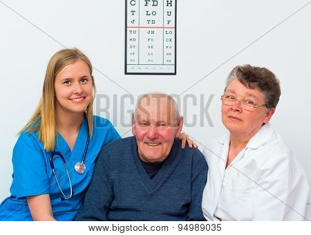 Happy Elderly Person