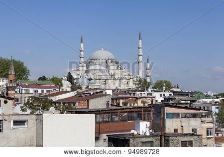 Suleymaniye Mosque. Istanbul. Turkey