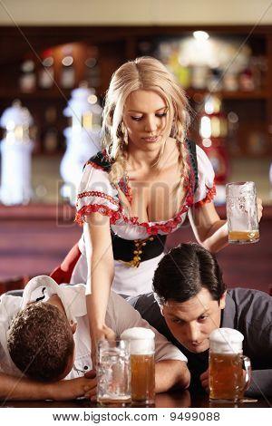 In The Beer Restaurant
