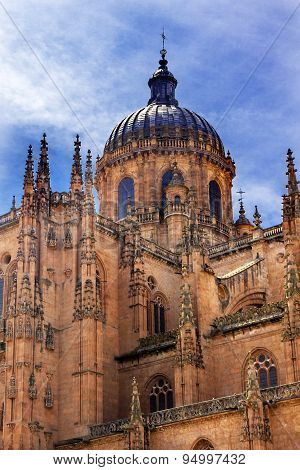 Stone Dome New Salamanca Cathedral Spain