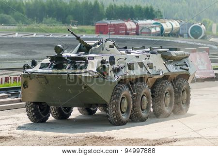 BTR-82A armoured personnel carrier