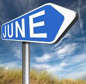 image of early spring  - june late spring early summer next month event calendar   - JPG