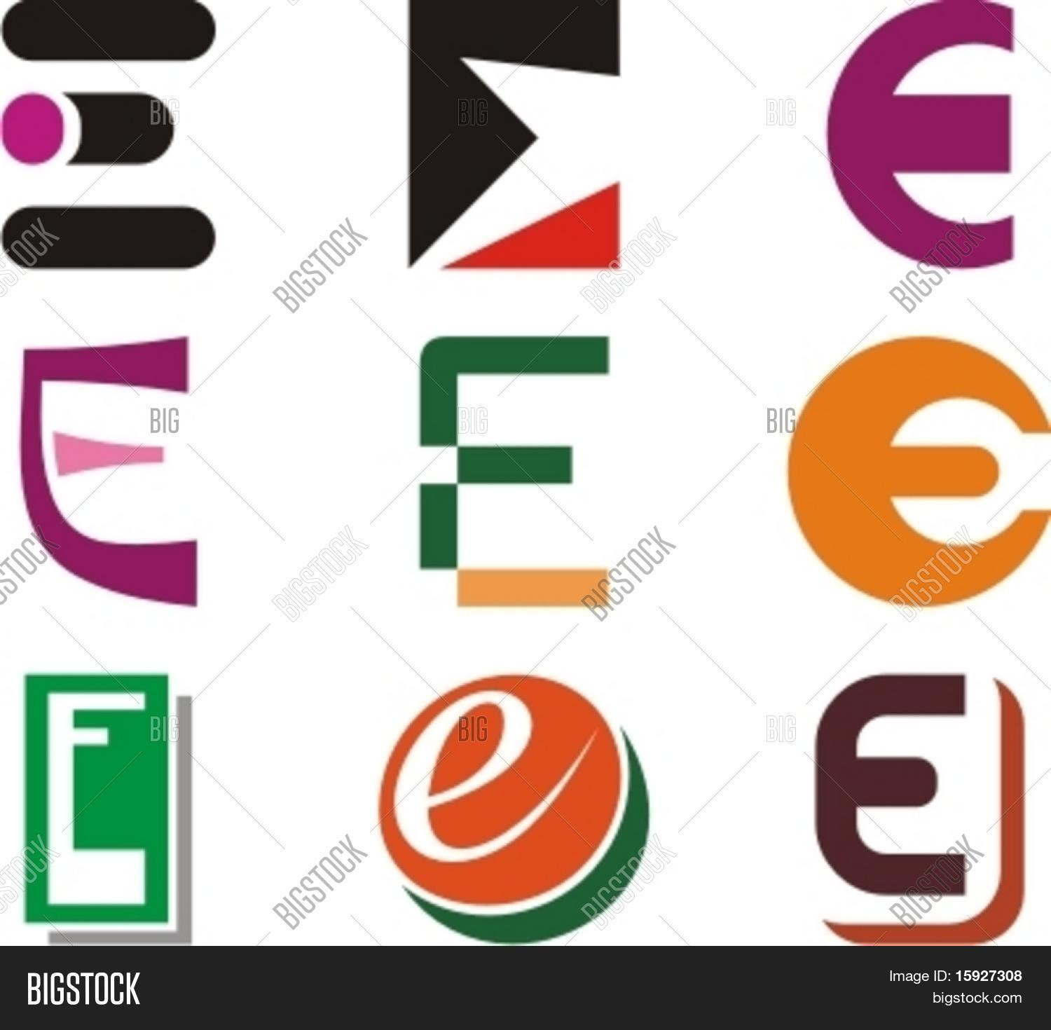 Alphabetical Logo Design Concepts. Letter E. Check my ...