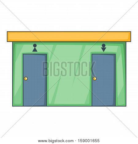 Toilet icon. Cartoon illustration of toilet vector icon for web