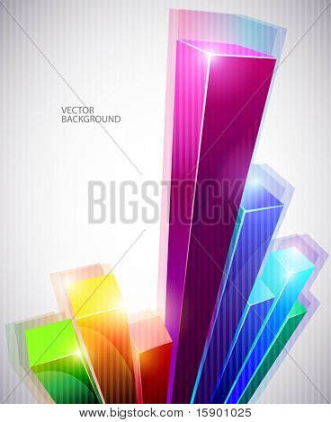 abstract colorful schedule.