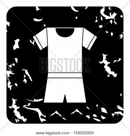 Sport uniform icon. Grunge illustration of sport uniform vector icon for web