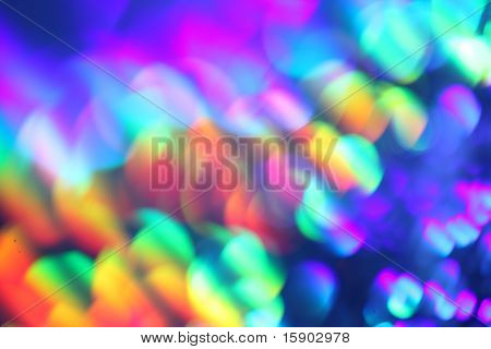 Abstrato colorido desfocar o fundo