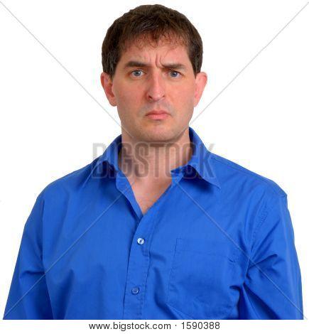 Man In Blue Dress Shirt 11
