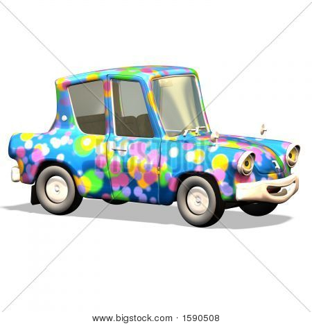Cartoon Car No. 17