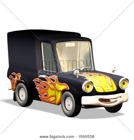 Cartoon Car No. 23