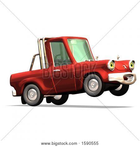 Cartoon Car No. 30