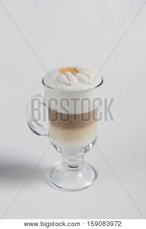 cup of cappuccino