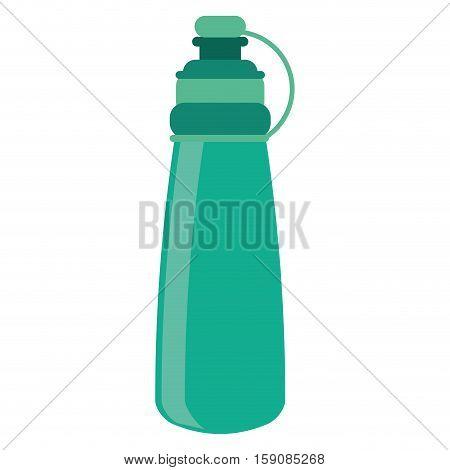 bottle water hydration fitness gym vector illustration eps 10
