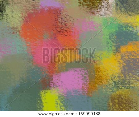 blurred abstract background of colored spots red yellow