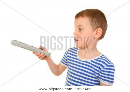 Boy With Remote Control