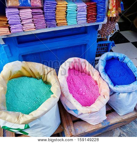 Colorants For Sale In Chefchaouen