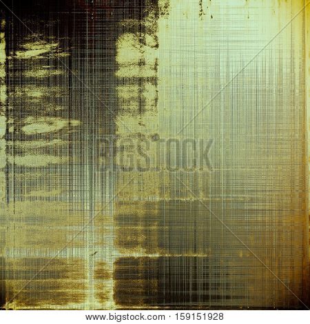Vintage retro frame or background, old school textured backdrop. With different color patterns: yellow (beige); brown; gray; black