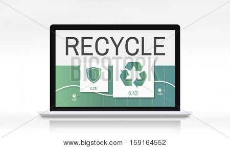 Recycle Eco Environment Icon Concept