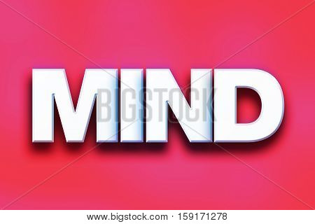 Mind Concept Colorful Word Art