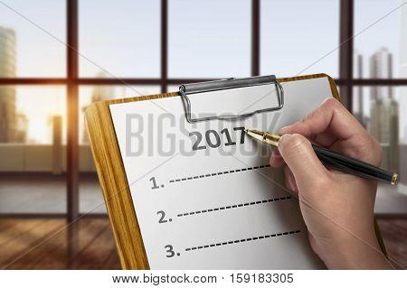 Women Write To Do List In 2017