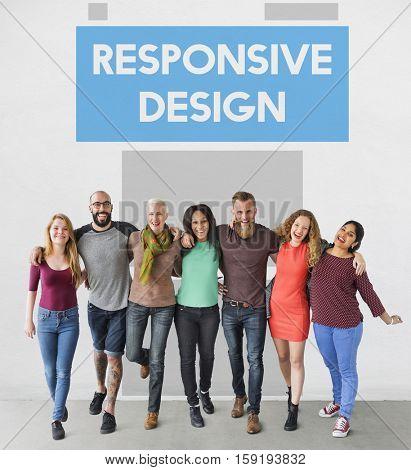 Responsive Web Design Technology Concept