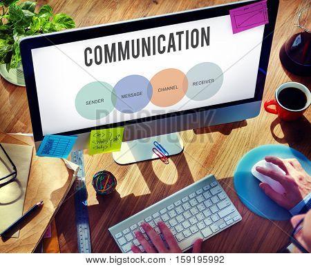 Communication Connection Conversation Dialog Concept