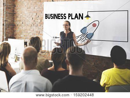 Vision Startup Plan New Business Entrepreneur Concept