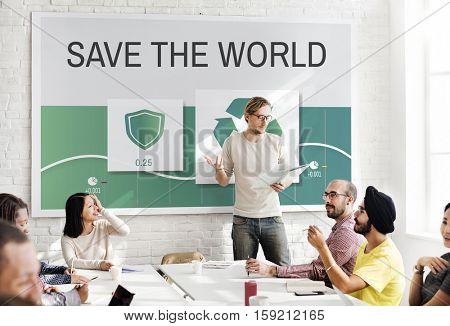 Recycle Eco Environment Icon Concept