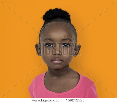 Little African Girl Portrait