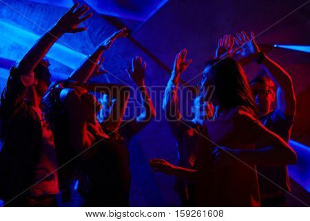 Dancing girls and guys