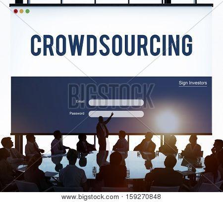 Crowdsourcing Collaboration Content Information Concept