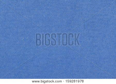 Blue Color Plastic Surface.