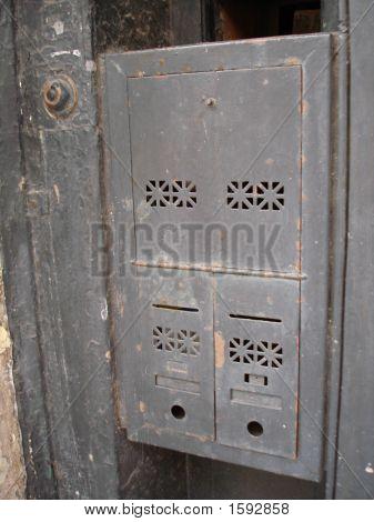 Antique Mail Boxes