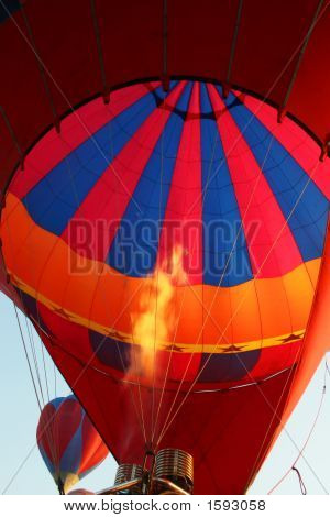 Hot Air Balloon Firing